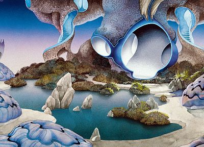 paintings, Roger Dean - related desktop wallpaper