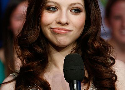 Michelle Trachtenberg, microphones - related desktop wallpaper