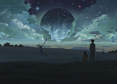 Makoto Shinkai, 5 Centimeters Per Second, The Place Promised in Our Early Days - random desktop wallpaper