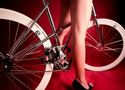 legs, women, bicycles, high heels, peep toe - related desktop wallpaper