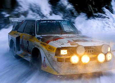 cars, Audi Quattro - random desktop wallpaper