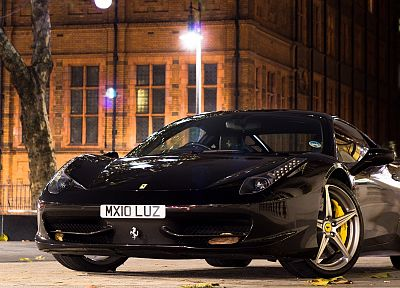 cars, vehicles, Ferrari 458 Italia - random desktop wallpaper