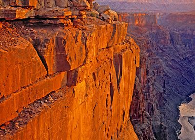 sunrise, point, Arizona, Grand Canyon, Colorado, National Park - desktop wallpaper
