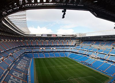 white, madrid, Real Madrid, stadium, Santiago Bernabeu - random desktop wallpaper