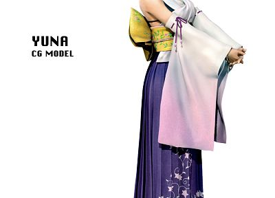 Final Fantasy, video games, Yuna, Final Fantasy X - desktop wallpaper