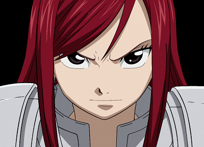 transparent, Fairy Tail, Scarlet Erza, anime vectors - related desktop wallpaper