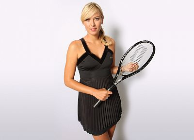 blondes, women, Maria Sharapova, tennis, tennis racquets, tennis players - random desktop wallpaper