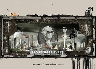war, oil, money, World Trade Center, currency - related desktop wallpaper
