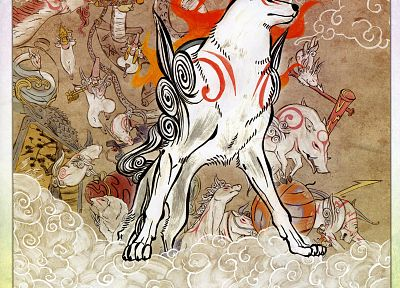 Okami - random desktop wallpaper