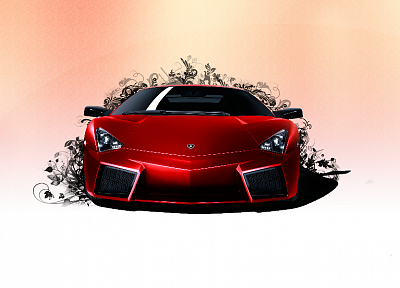 cars, Lamborghini, vehicles, supercars, Lamborghini Reventon, red cars, front view - related desktop wallpaper