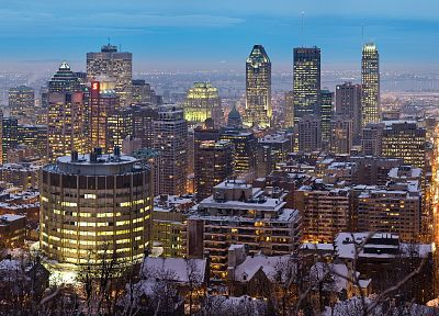 cityscapes, architecture, buildings, Montreal - random desktop wallpaper