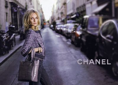 women, actress, models, fashion, Diane Kruger, purses, Chanel - related desktop wallpaper