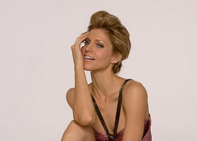 women, Tricia Helfer - random desktop wallpaper