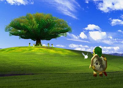 Link, Windows XP, The Legend of Zelda - desktop wallpaper