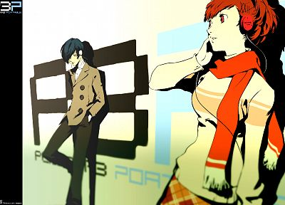 Persona series, Persona 3, Arisato Minato, Female Protagonist (Persona 3) - popular desktop wallpaper