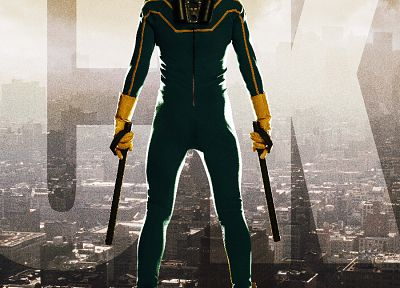 Kick-Ass, rooftops, movie posters - related desktop wallpaper