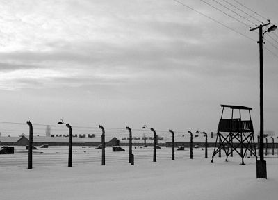 prison, World War II, Auschwitz, concentration camp - random desktop wallpaper