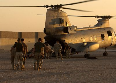 war, military, helicopters, US Marines Corps, vehicles - desktop wallpaper