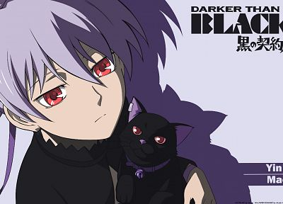 Darker Than Black, Yin, Mao (Darker Than Black) - random desktop wallpaper
