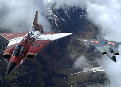 aircraft, vehicles, jet aircraft, Draken - related desktop wallpaper