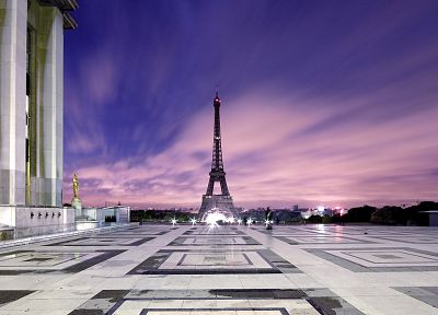 Eiffel Tower, Paris, cityscapes, France - random desktop wallpaper