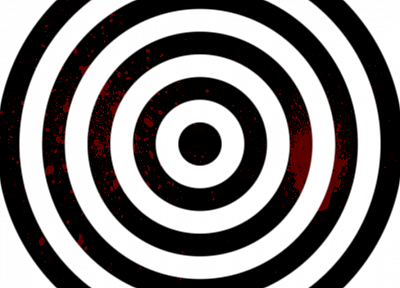 blood, spiral, optical illusions, splatters - related desktop wallpaper