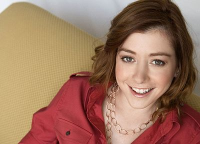 Alyson Hannigan, women, actress, L. - random desktop wallpaper