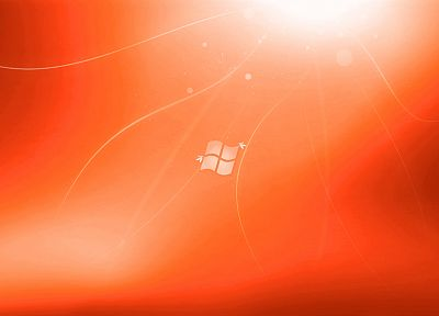 orange, Microsoft Windows - random desktop wallpaper