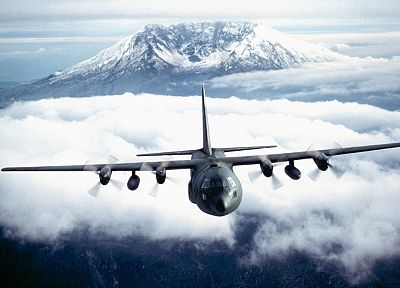 aircraft, military, C-130 Hercules - desktop wallpaper