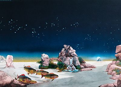 paintings, Roger Dean - random desktop wallpaper