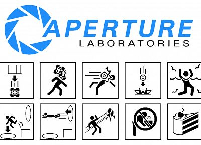 Portal, Aperture Laboratories - related desktop wallpaper