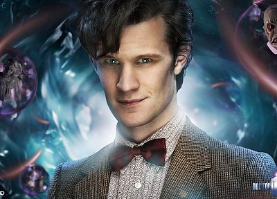 Matt Smith, Eleventh Doctor, Doctor Who - desktop wallpaper
