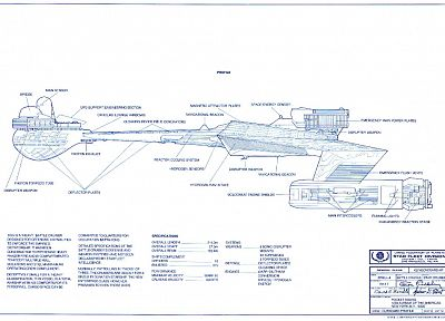 Star Trek, Star Trek schematics, star fleet divison - random desktop wallpaper