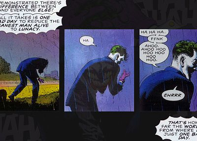 DC Comics, The Joker, Killing Joke - related desktop wallpaper