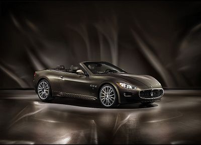 vehicles, Maserati GranCabrio - random desktop wallpaper