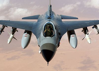aircraft, military, F-16 Fighting Falcon - related desktop wallpaper