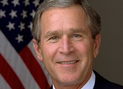 George Bush - random desktop wallpaper