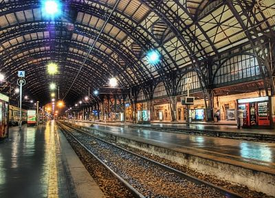 architecture, train stations - desktop wallpaper