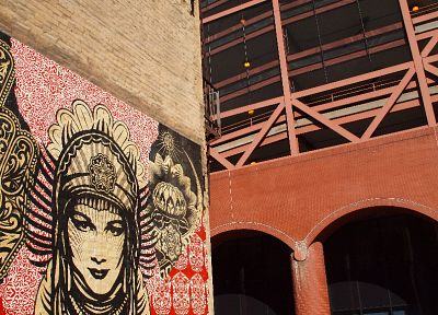 graffiti, obey, Shepard Fairey - related desktop wallpaper