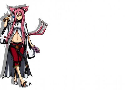 Blazblue, simple background, Kokonoe (Blazblue) - random desktop wallpaper