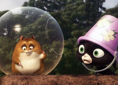movies, cats, hamsters, Bolt (2008) - random desktop wallpaper