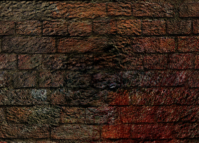 grunge, bricks - random desktop wallpaper