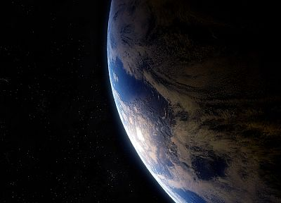 outer space, planets, Earth - related desktop wallpaper