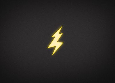 minimalistic, electricity, lightning - desktop wallpaper