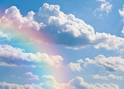 rainbows, skyscapes - desktop wallpaper