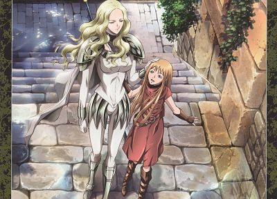 Claymore, Claire, Teresa - related desktop wallpaper
