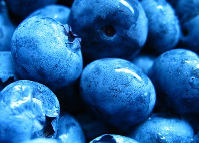 fruits, macro, blueberries - related desktop wallpaper