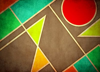 abstract, multicolor, geometry - random desktop wallpaper