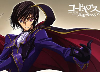 Code Geass, Lamperouge Lelouch - desktop wallpaper