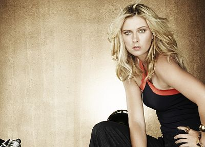 women, Maria Sharapova - random desktop wallpaper